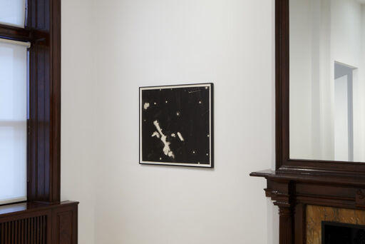 An installation view consisting of Peter Alexander's painting Azusa VIII.